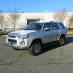 2016 Toyota 4Runner Trail silver