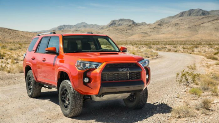 Toyota Four Runner 2015
