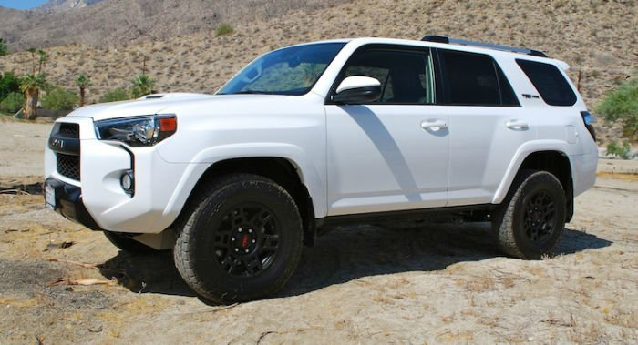 2016 toyota 4runner trd pro white. Black Bedroom Furniture Sets. Home Design Ideas