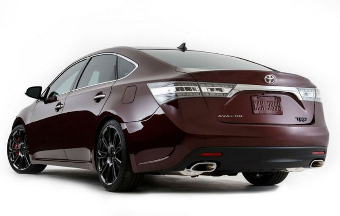 Toyota Avalon Paint Colors
