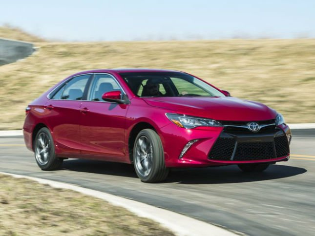 2016 Toyota Camry Drive