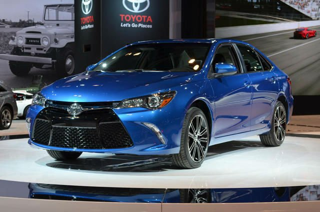2016 Camry Colors Toyota Le