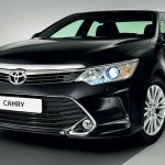 2016 Toyota Camry XLE Black