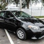 2016 Toyota Corolla Black