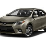 2016 Toyota Corolla LE Brown Sugar