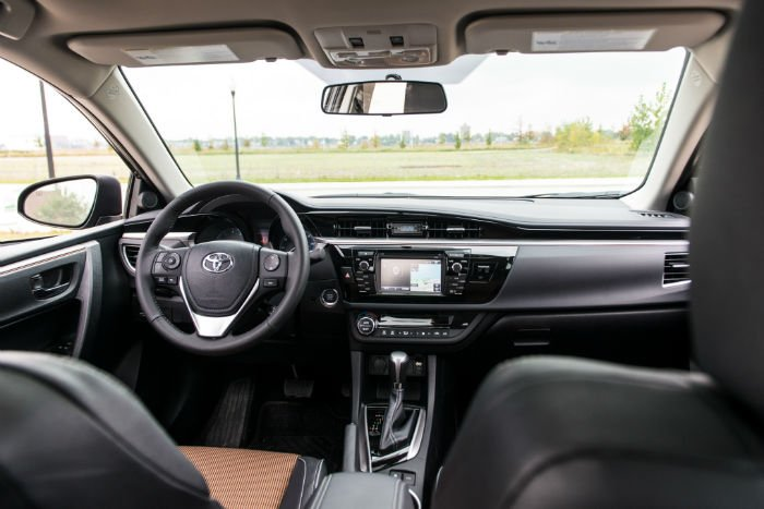 2016 Toyota Corolla S Plus Interior