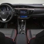 2016 Toyota Corolla Sport Black Interior