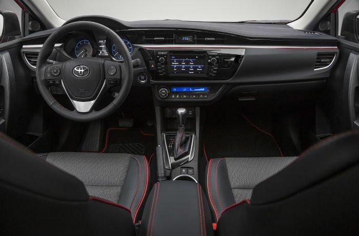 2016 toyota corolla sport black interior for 2016 toyota corolla s interior