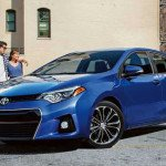 2016 Toyota Corolla Sport Blue