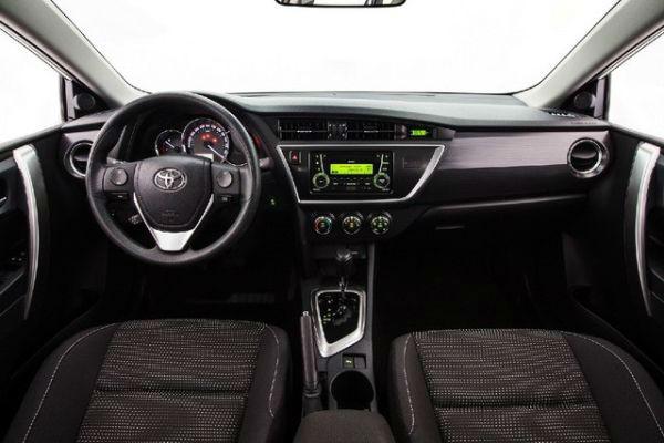 2016 Toyota Corolla Sport Interior