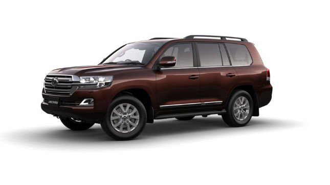 2016 Toyota Land Cruiser 200 Series Colours