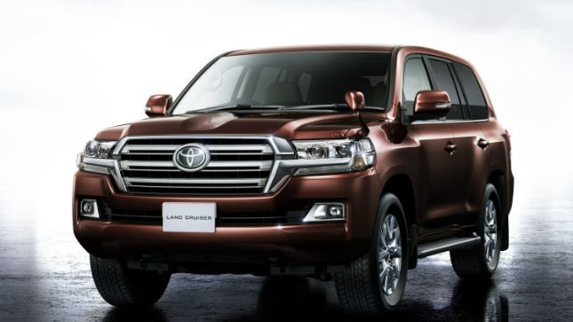 2016 Toyota Land Cruiser 200