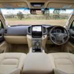 2016 Toyota Land Cruiser Interior