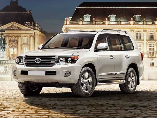 2016 Toyota Land Cruiser Spy Shots