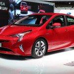 2016 Toyota Prius (Red)