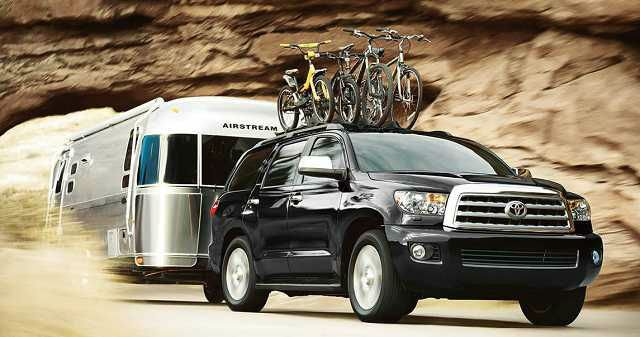 2016 Toyota Sequoia Limited Wallpaper