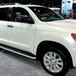 2016 Toyota Sequoia Limited White