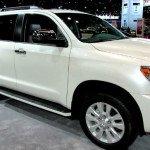 2016 Toyota Sequoia Limited White
