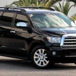 2016 Toyota Sequoia Platinum Black