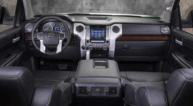 2016 Toyota Sequoia Platinum Interior