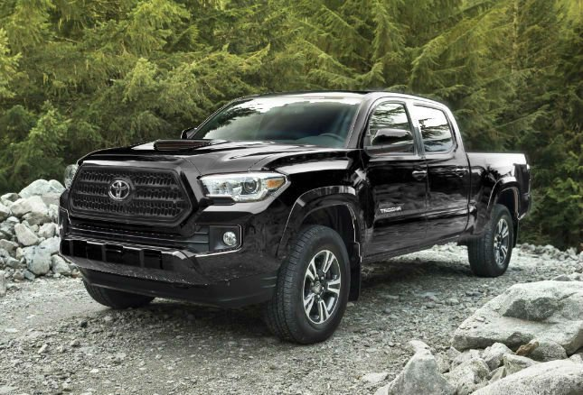 2016 toyota tacoma trd sport black. Black Bedroom Furniture Sets. Home Design Ideas
