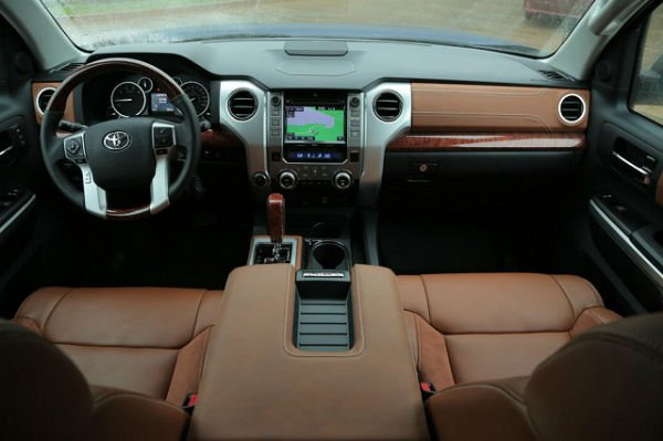 2016 Toyota Tundra Limited Interior