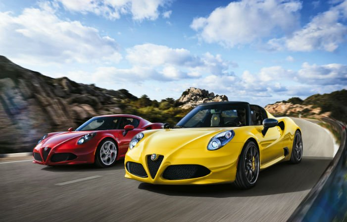 2017 Alfa Romeo 4C Spider Speed