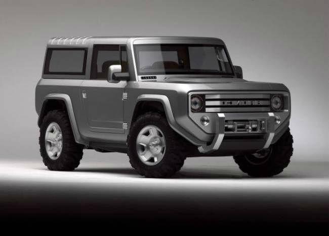 2017 Ford Bronco >> 2017 Ford Bronco Ii