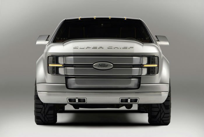 2017 Ford F250 Super Chief Facelift