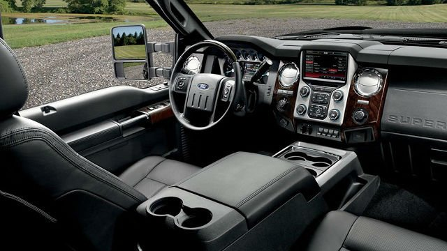 2017 Ford F250 Super Duty Interior
