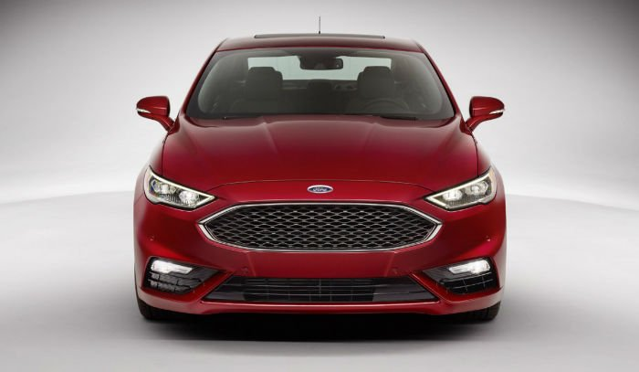 2017 Ford Fusion Facelift
