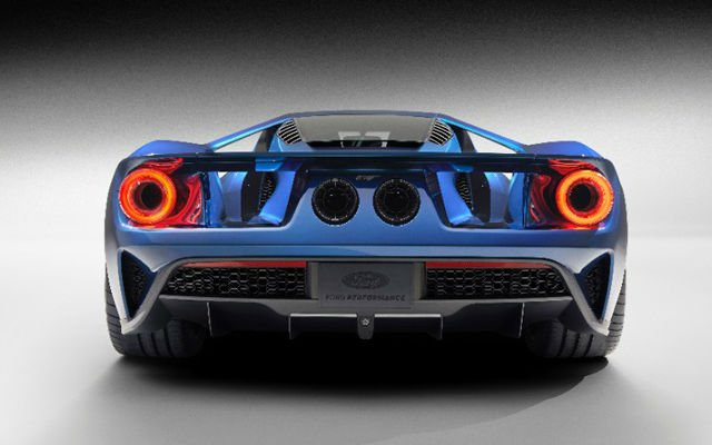 2017 Ford GT Exaust