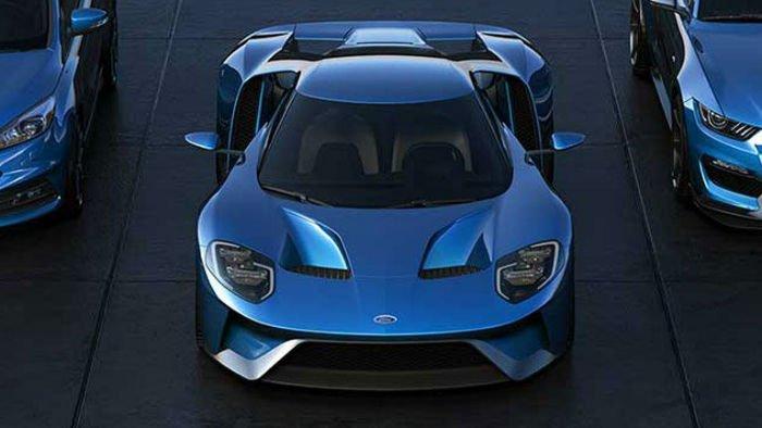 2017 Ford GT Facelift