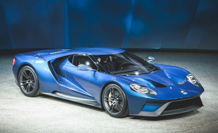 2017 Ford GT Supercar Model