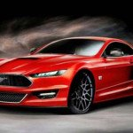 2017 Ford Mustang Concept Model
