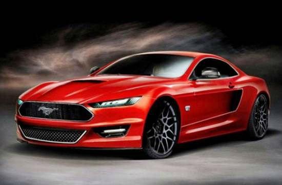 Ford Mustang Concept 2017 >> 2017 Ford Mustang Concept Model