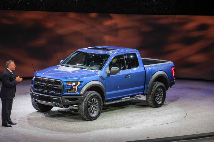 2017 Ford Raptor Model
