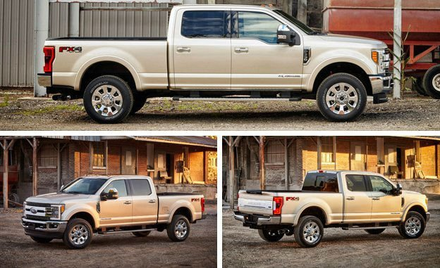 2017 Ford Super Duty Colors