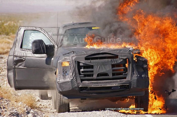 2017 Ford Super Duty Fire