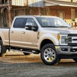 2017 Ford Super Duty Rendering