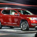 2017 GMC Acadia Detroit Auto Show