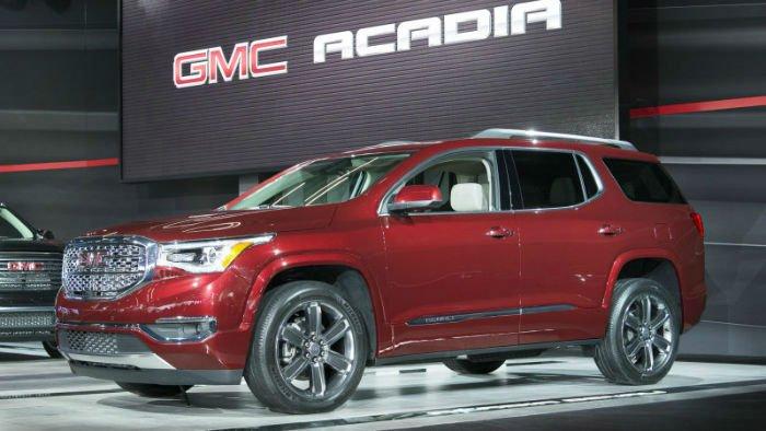 2017 GMC Acadia Pictures