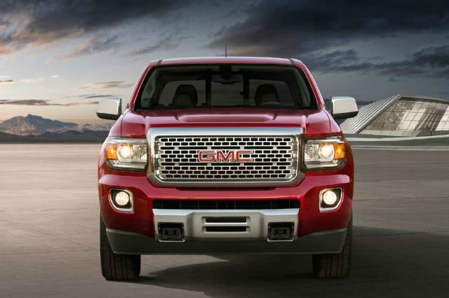 2017 GMC Canyon Facelift