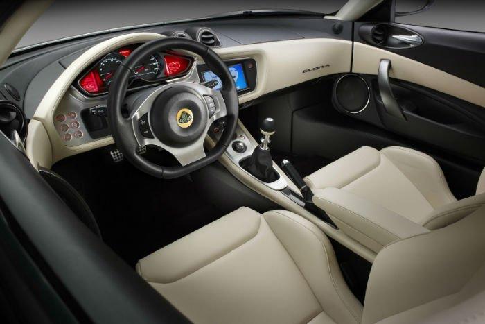 2017 Lotus Elan Interior