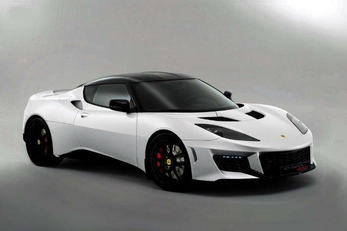 2017 Lotus Evora 400 Concept