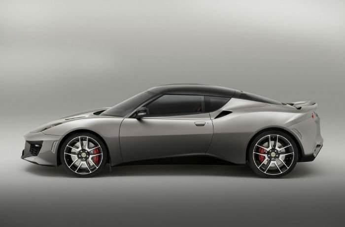 2017 Lotus Evora 400 Exterior