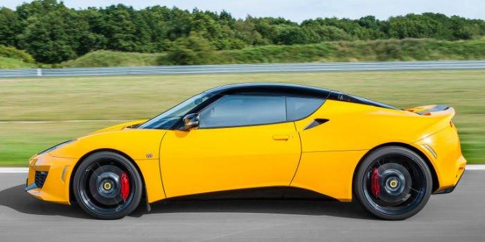 2017 Lotus Evora 400 Yellow