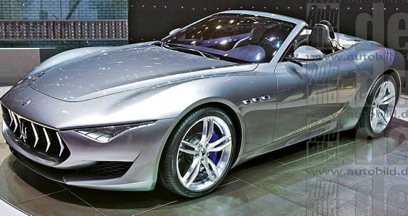 2017 Maserati Alfieri Convertible Gtopcars Com