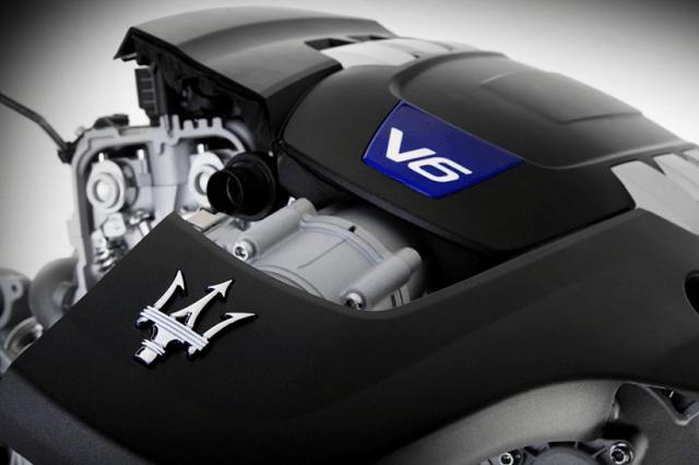 2017 Maserati Ghibli Engine