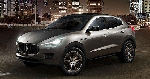 2017 Maserati Levante Model